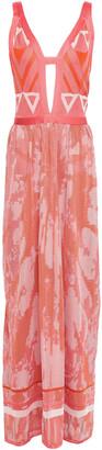 Talitha Collection Cutout Crochet-knit Maxi Dress