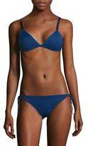 Malia Mills Vamp Triangle Bikini Top