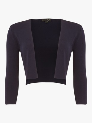 Phase Eight Lightweight Knit Bolero, Navy