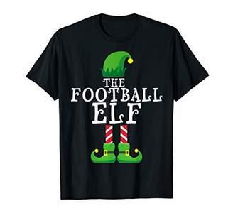 Football Elf Matching Family Group Christmas Gift Pajama T-Shirt