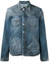 RtA zipped denim jacket - men - Cotton/Polyurethane - S
