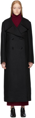 Lemaire Black Long Coat