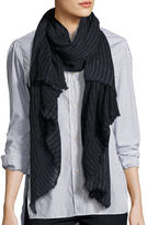 Etoile Isabel Marant Zephyr Striped Cashmere Scarf