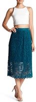 Romeo & Juliet Couture Mid-Length Lace Skirt