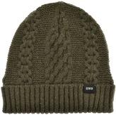 Edwin United Knit Beanie Hat Green