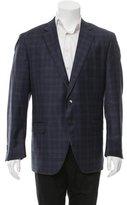 Peter Millar Plaid Wool Blazer