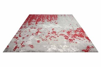 Antigua Latitude Run Gray/Red Area Rug Latitude Run