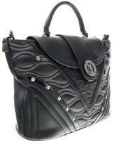 Versace Ee1vobbk1 E899 Black Top Handle.