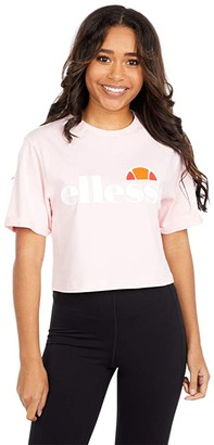 Ellesse Alberta Crop T-Shirt (Light Pink) Women's T Shirt