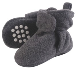Luvable Friends Baby Fleece Booties, 0-24 Months