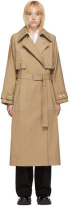 3.1 Phillip Lim Khaki Dolman Sleeve Trench Coat