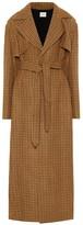 KHAITE The Blythe checked wool coat