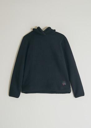 Herschel Women's Sherpa Hoodie in Black, Size Extra Small   Fleece