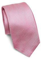 Kiton Basketweave Silk Tie