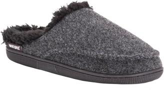 Muk Luks Men's Faux-Wool Clog Slippers