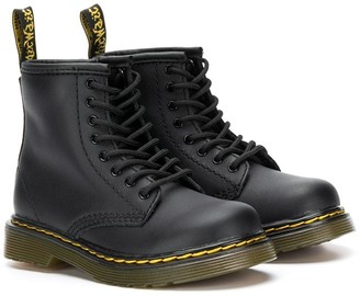 Dr. Martens Kids Delaney lace-up boots