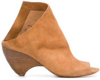 Marsèll Asymmetric Ankle Boots