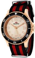 Seapro SP5314NR Men's Tideway Black & Red Nylon Watch