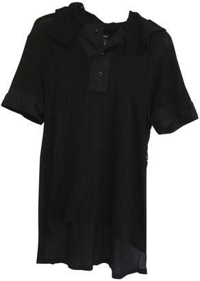 Ann Demeulemeester Black Cotton T-shirts