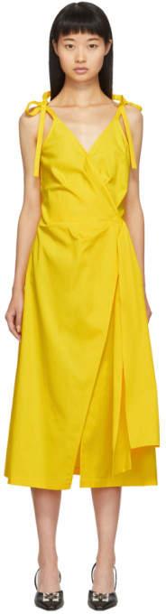 Off-White Yellow Sunshine Dress