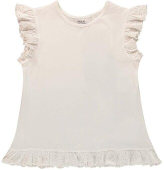 Polo Ralph Lauren Lace Top T Shirt