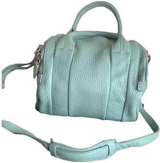 Alexander Wang Rockie Green Leather Handbags
