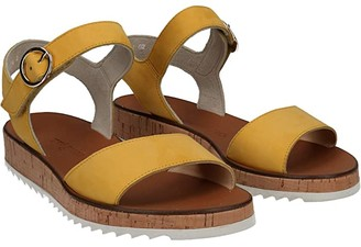 Paul Green Audrey Sandal (Sunflower Nubuck) Women's Shoes