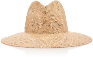 Janessa Leone Kai Wide-Brim Straw Hat