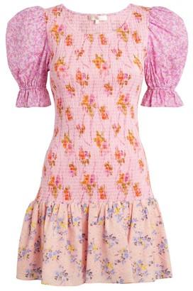 LoveShackFancy Luppa Mini Dress