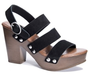 Chinese Laundry Flower Platform Sandals Women's Shoes