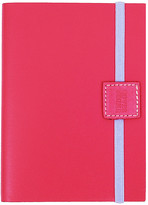 Undercover Recycled Leather Notebook Lined - Lipstick - A6