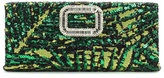 Roger Vivier Pilgrim Small sequinned clutch