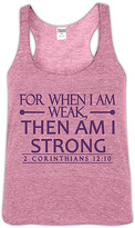 Urban Smalls Heather Pink 'For When I Am' Racerback Tank - Toddler & Girls