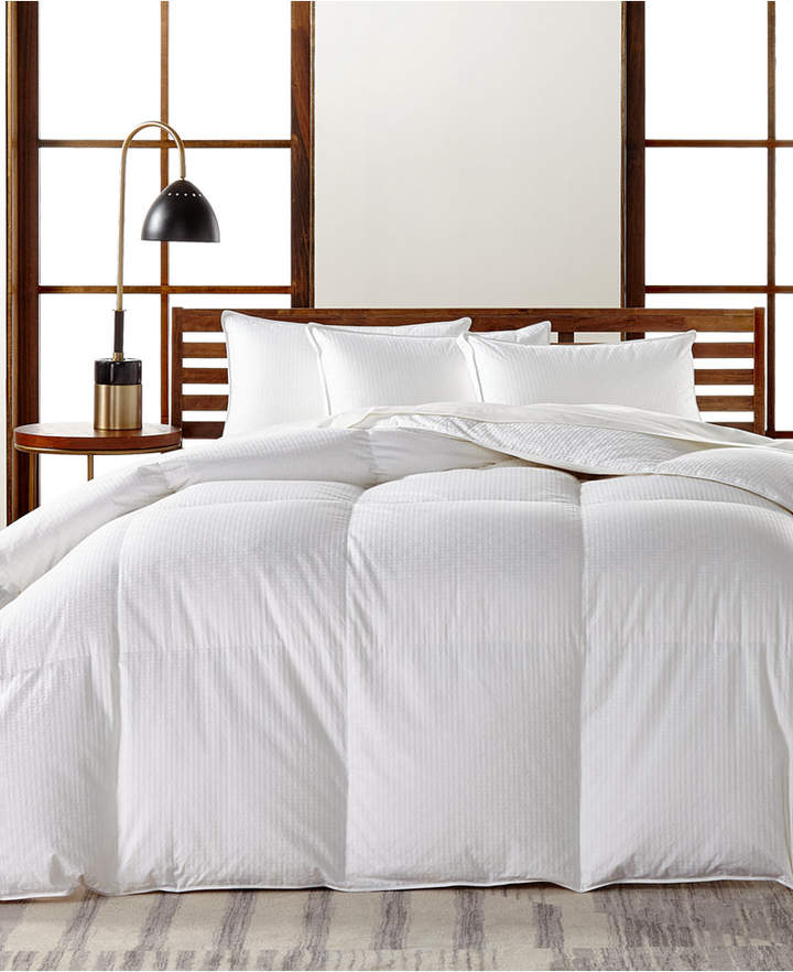 Hotel Collection European White Goose Down Medium Weight Twin Comforter, Hypoallergenic UltraClean Down