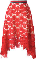 Hilfiger Collection - lace midi skirt - women - Cotton/Polyester - 6