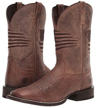 Ariat Circuit Patriot (Weathered Tan) Cowboy Boots