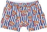 MC2 Saint Barth Bears Print Nylon Swim Shorts