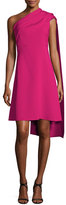 Narciso Rodriguez Draped One-Shoulder Dress, Fuchsia