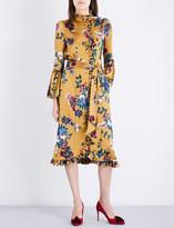 Erdem Siren floral silk dress