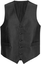 Marks And Spencer Silk Rich Textured 5 Button Waistcoat