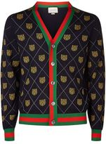 Gucci Wool Tiger Cardigan