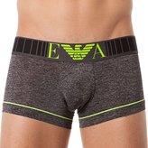 Emporio Armani Men's Two Tones Microfiber Trunk Underwear, -, S