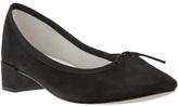 block heel ballerina