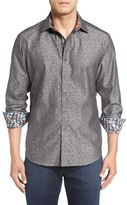 Robert Graham Men's 'Basilio' Regular Fit Jacquard Sport Shirt