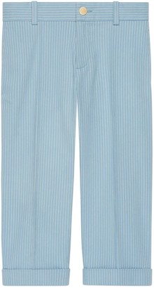 Gucci Children's striped cotton pant