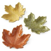 Williams-Sonoma Williams Sonoma Maple Leaf Condiment Plates