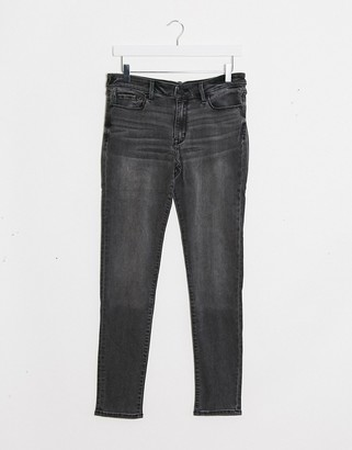Abercrombie & Fitch skinny jeans in mid grey
