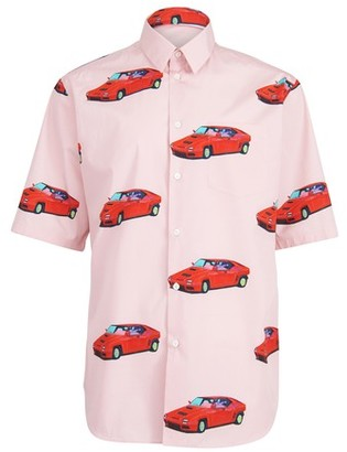 Versace Short sleeves printed shirt