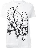 Stella McCartney All is Love asymmetrical T-shirt - women - Cotton - 38
