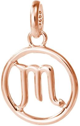 Mocha Scorpio Zodiac Charm